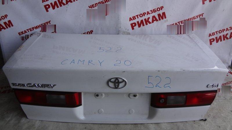 Крышка багажника Toyota Camry SXV20 5S-FE 2000
