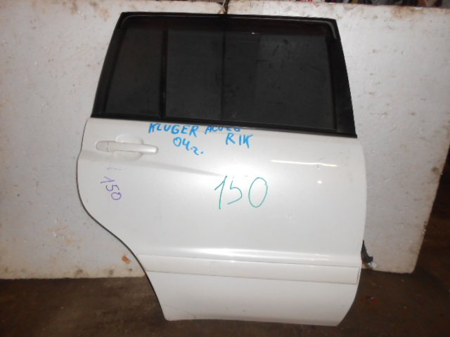 Дверь Toyota Kluger V ACU20 задняя правая