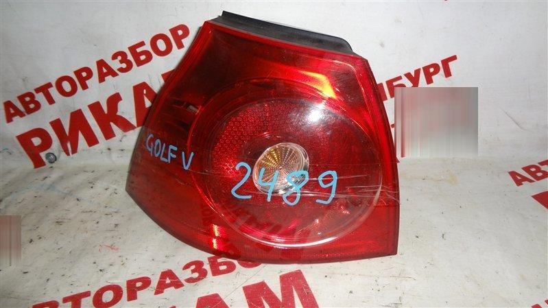 Стоп-сигнал Volkswagen Golf MK5 левый
