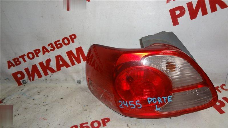 Стоп-сигнал Toyota Porte NNP11 1NZ-FE левый