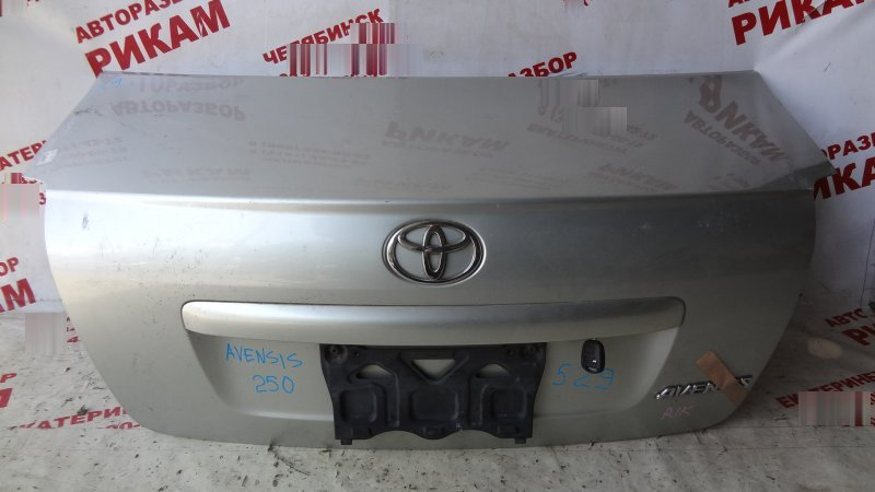 Крышка багажника Toyota Avensis AZT250