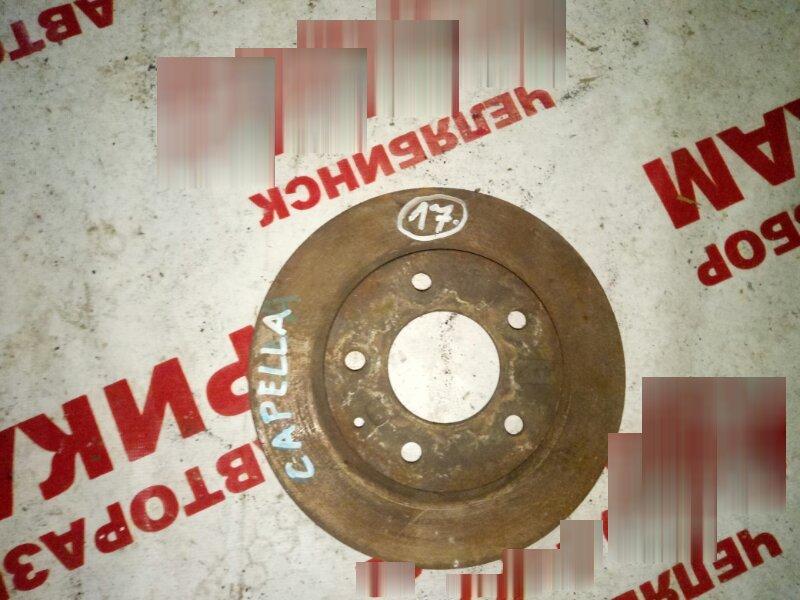 Диск тормозной Mazda Capella передний