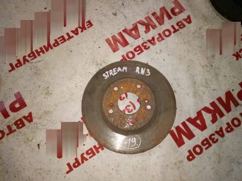 Диск тормозной Honda Stream RN3 передний