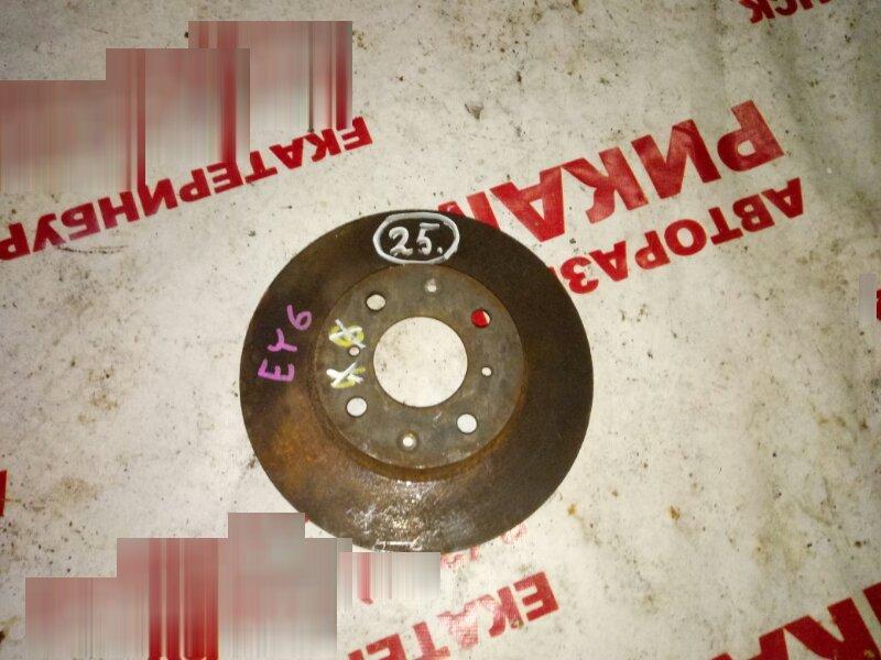 Диск тормозной Honda Partner EY6 передний