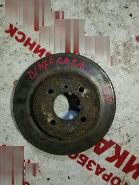 Диск тормозной Mitsubishi Dingo CQ2A передний