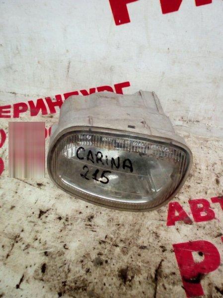 Противотуманная фара Toyota Carina ST215 левая