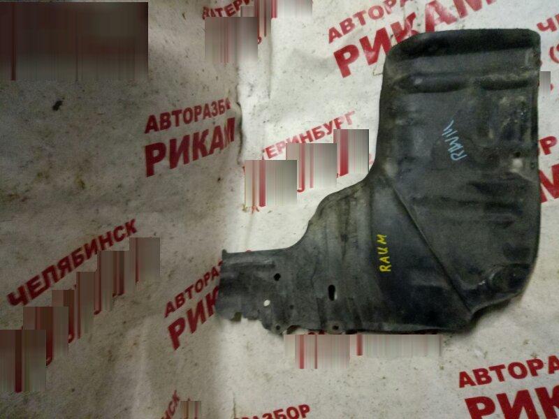 Защита двигателя Toyota Raum EXZ10 левая