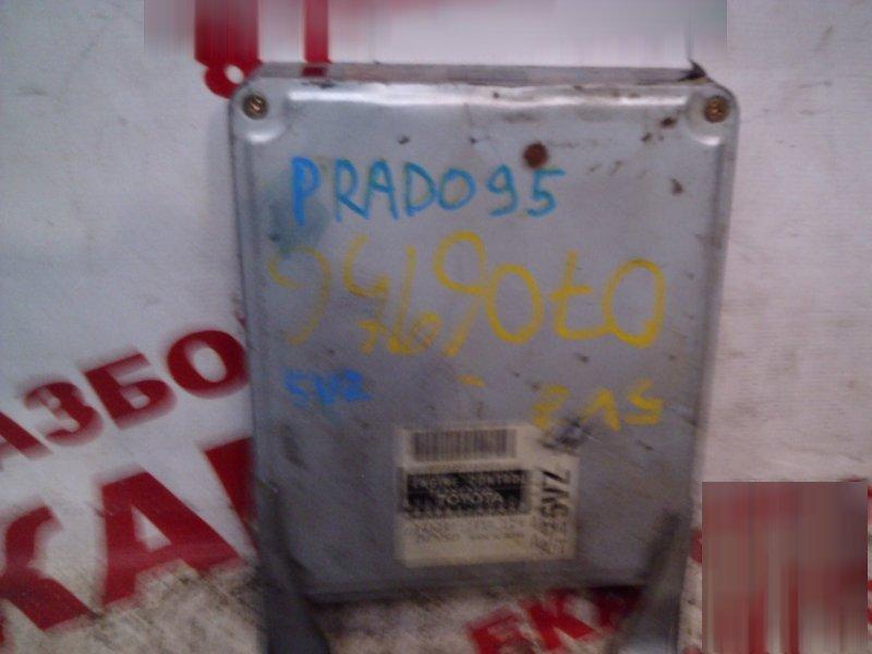 Блок управления Toyota Land Cruizer Prado VZJ95 5VZ-FE