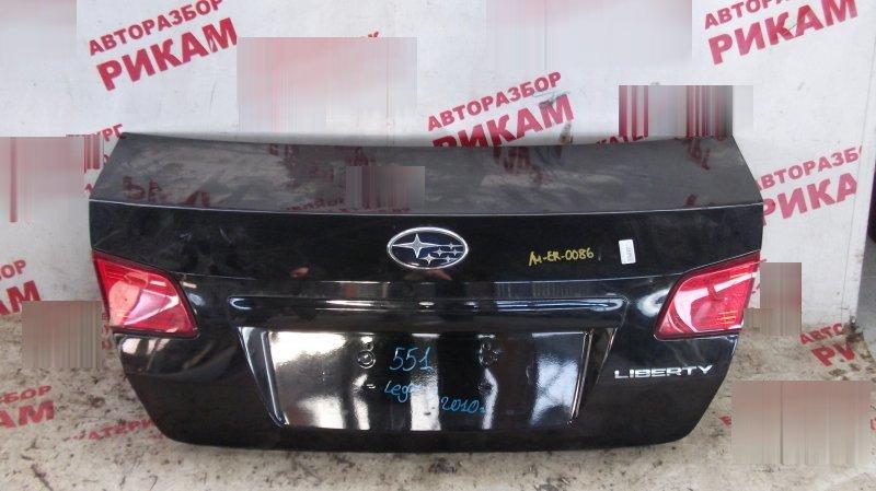 Крышка багажника Subaru Legacy BM9 EJ253 2010