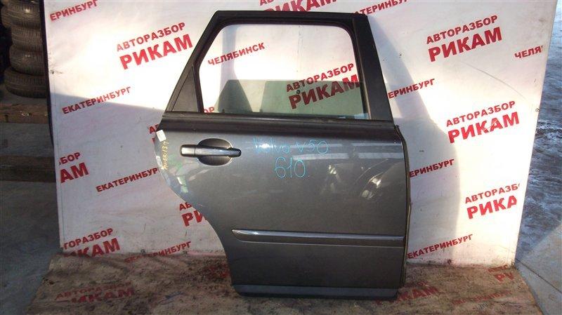 Дверь Volvo V50 MW38 B5244S4 2009 задняя правая