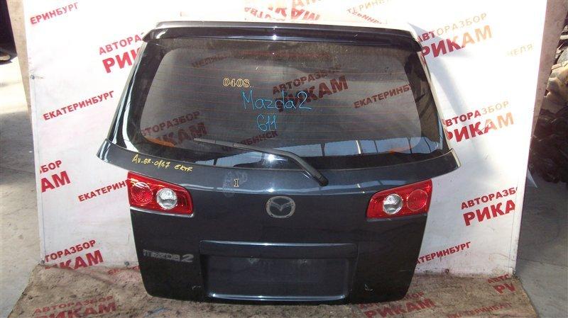 Дверь багажника Mazda 2 DY1 2005