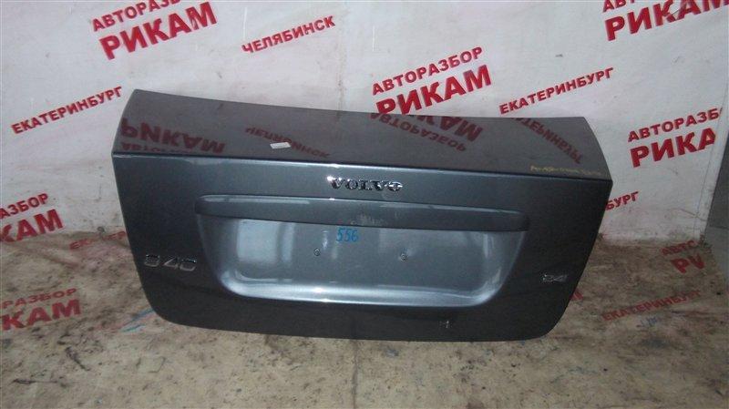 Крышка багажника Volvo S40 MS38 B5244S4 2006