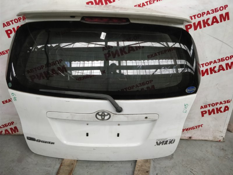 Дверь багажника Toyota Corolla Spacio ZZE122 1ZZ-FE