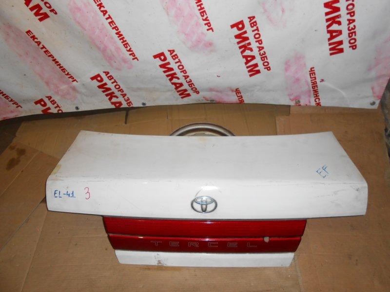 Крышка багажника Toyota Tercel EL53