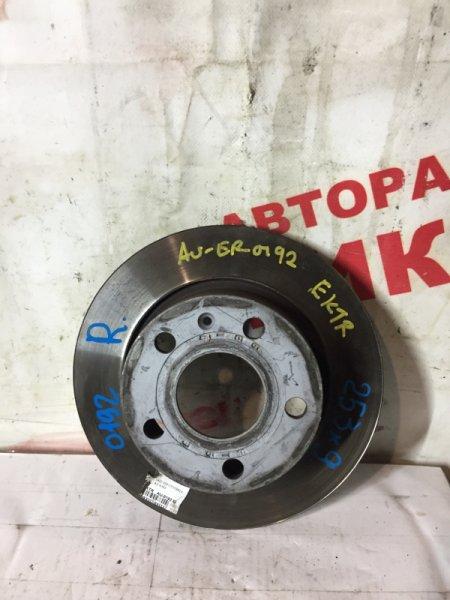 Диск тормозной Volkswagen Golf Vi 5K1 CBZ 2011 задний