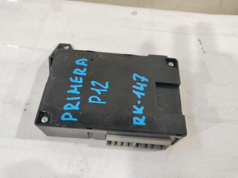 Блок климат-контроля Nissan Primera WTP12 QR20DE 2004