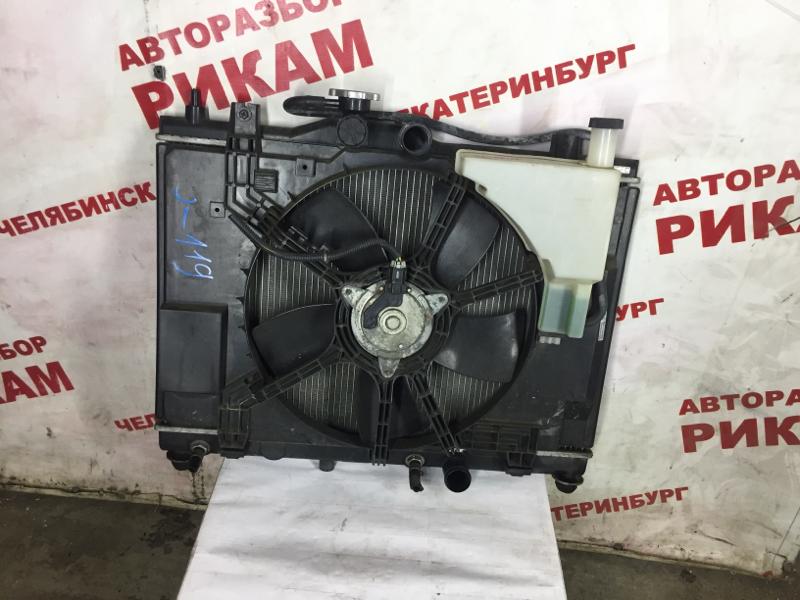 Радиатор охлаждения Nissan Tiida C11 HR15DE 2007