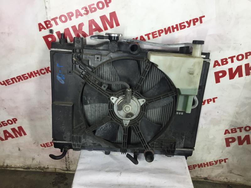 Радиатор охлаждения Nissan Tiida C11 HR15DE 2004