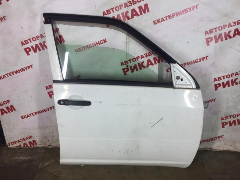 Дверь Toyota Probox NCP50 2NZ-FE 2006 передняя правая