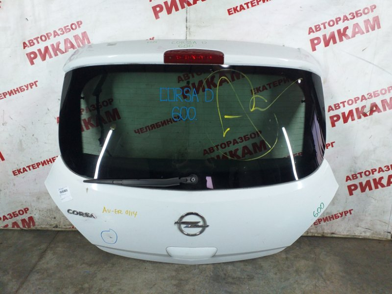 Дверь багажника Opel Corsa D A14XER 2012