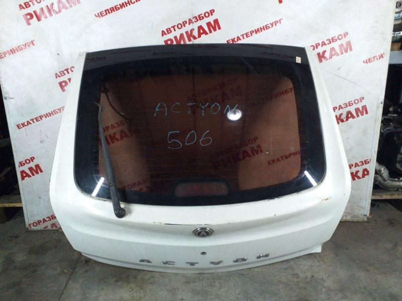 Дверь багажника Ssangyong Actyon C100