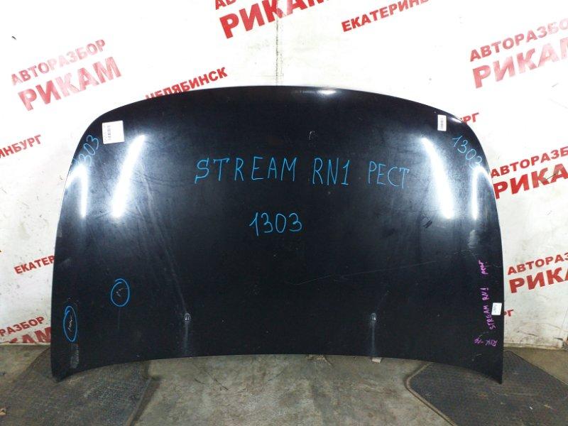 Капот Honda Stream RN1 D17A
