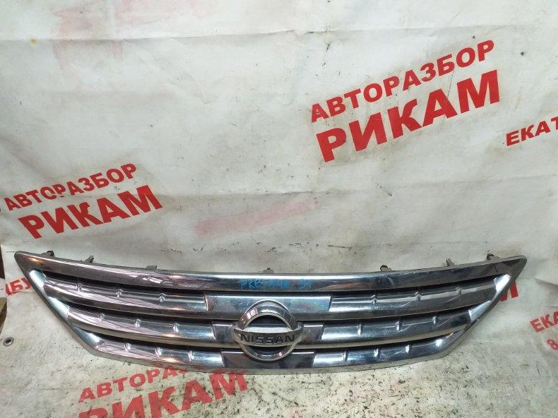 Решетка радиатора Nissan Presage U31