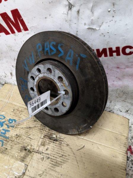 Диск тормозной Volkswagen Passat B5 передний правый