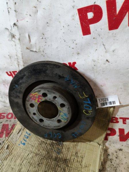 Диск тормозной Volkswagen Golf MK4 передний