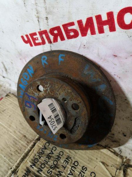 Диск тормозной Suzuki Wagon R MR21S передний