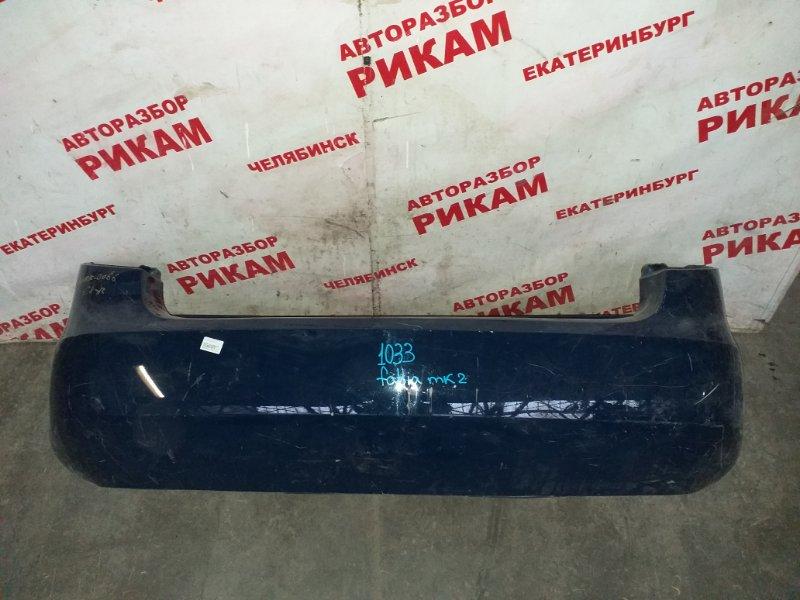 Бампер Skoda Fabia 5J2 CGG 2012 задний