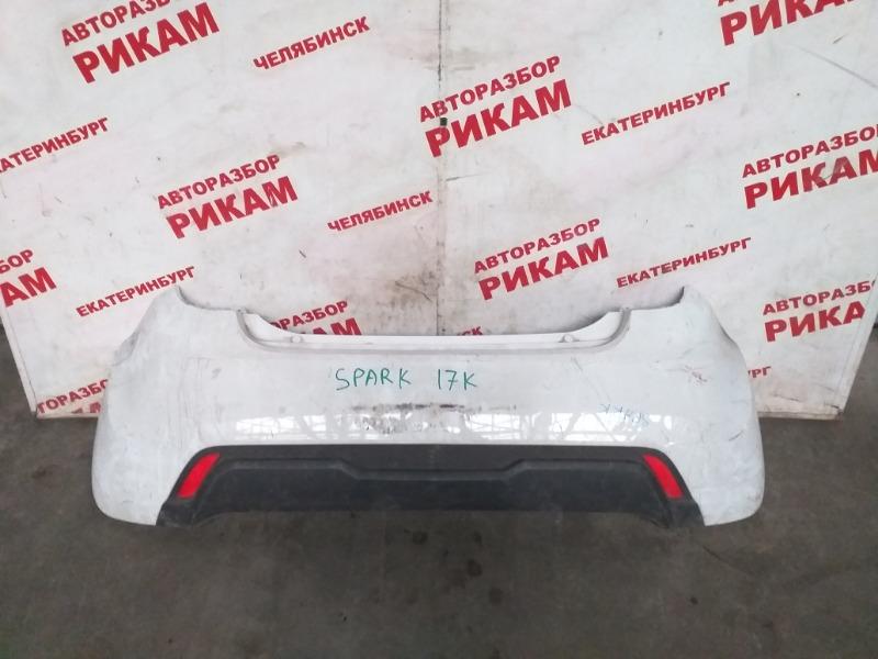 Бампер Chevrolet Spark M300 задний
