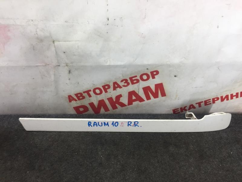 Накладка крыла Toyota Raum EXZ10 задняя правая