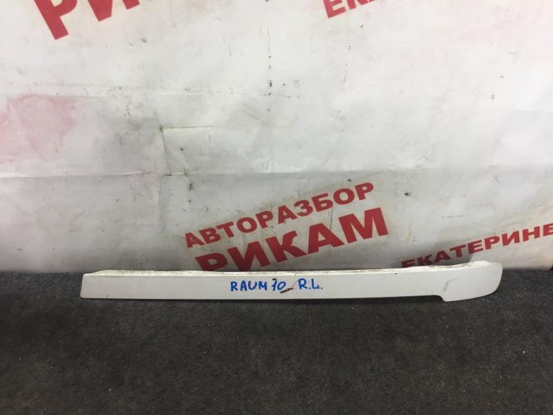 Накладка крыла Toyota Raum EXZ10 задняя левая