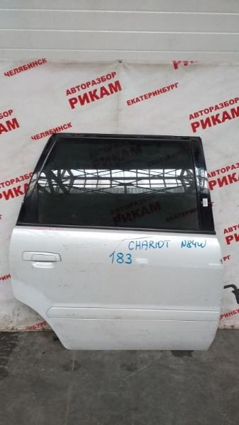 Дверь Mitsubishi Chariot N84W задняя правая