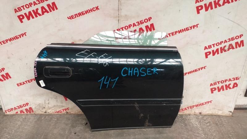 Дверь Toyota Chaser GX100 задняя правая