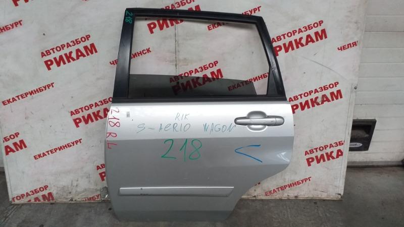 Дверь Suzuki Aerio RA21S задняя левая