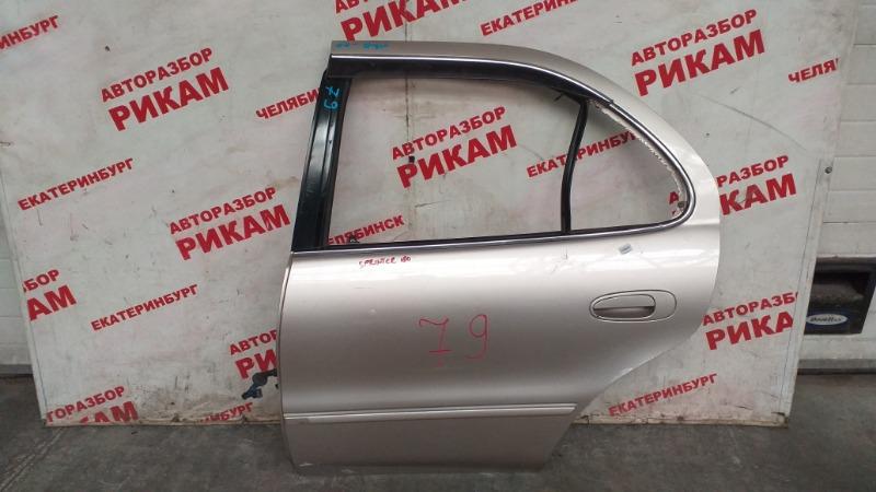 Дверь Toyota Sprinter AE100 задняя левая
