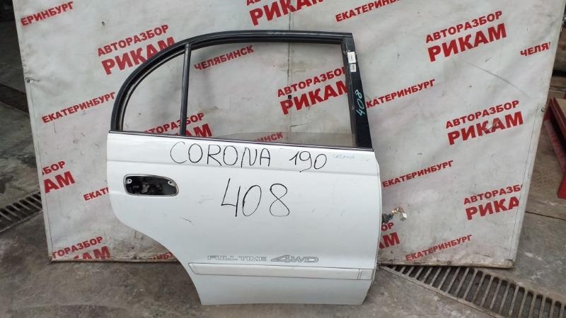Дверь Toyota Corona ST190 задняя правая