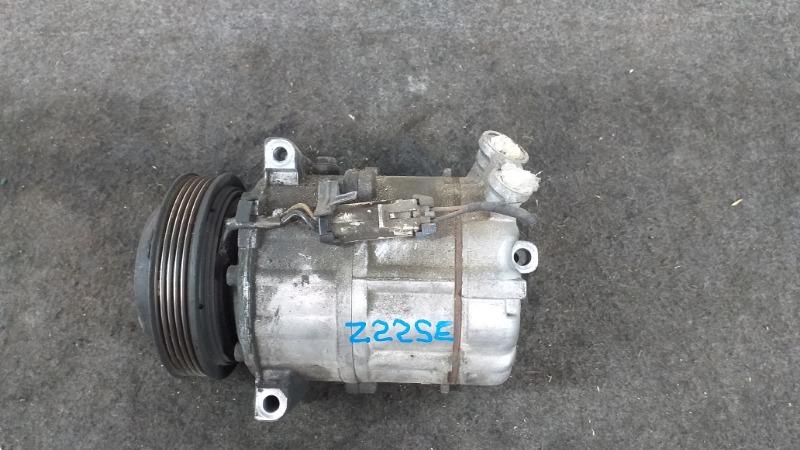 Компрессор кондиционера Opel Astra G F08 Z22SE 2002