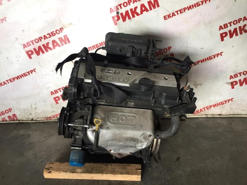 Двигатель Hyundai Accent X3 G4FK