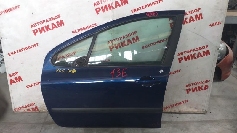 Дверь Peugeot 307 3A/C передняя левая