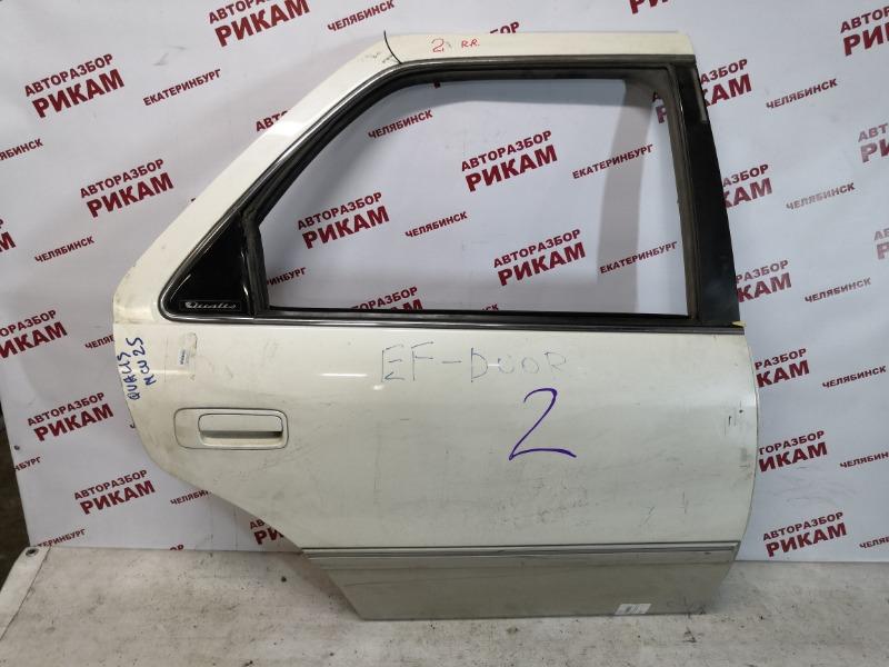 Дверь Toyota Mark Ii Wagon Qualis MCV20 задняя правая