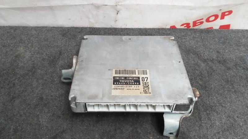 Блок управления Toyota Estima ACR30 2AZ-FE