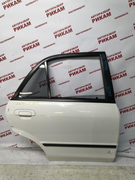 Дверь Mazda 323 BJ FP 2003 задняя правая