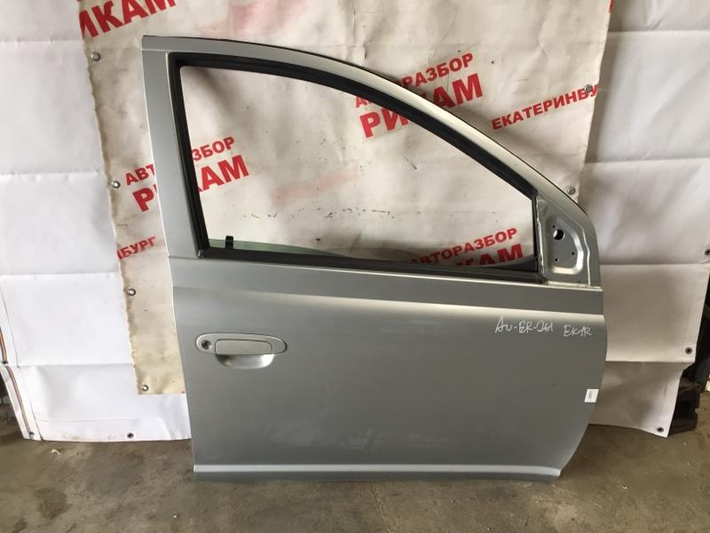 Дверь Toyota Echo NCP12R 1NZ-FE 2005 передняя правая