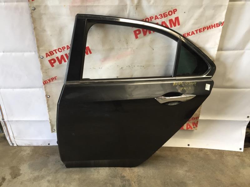 Дверь Honda Accord CU2 K24Z3 2012 задняя левая