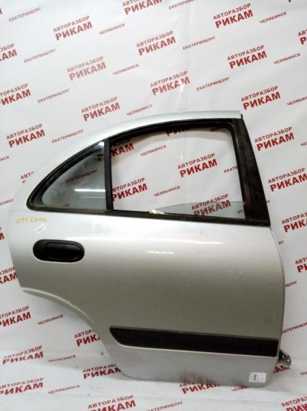 Дверь Nissan Almera N16 QG16DE 2002 задняя правая