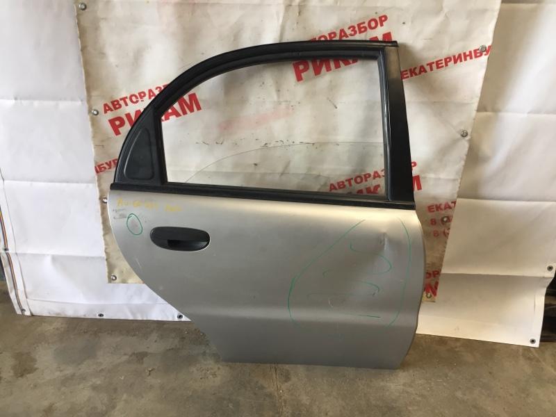 Дверь Chevrolet Lanos T100 A15SMS задняя правая