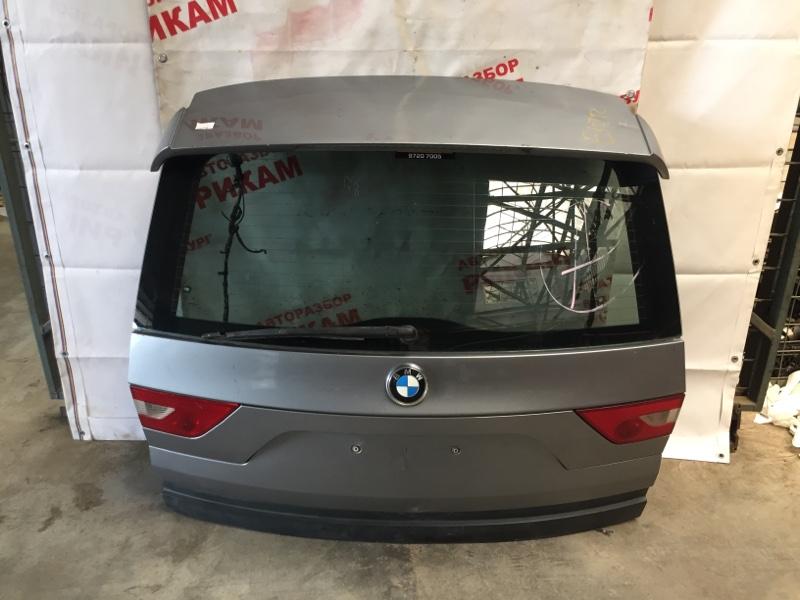 Дверь багажника Bmw X3 E83 M54B30 2004 задняя